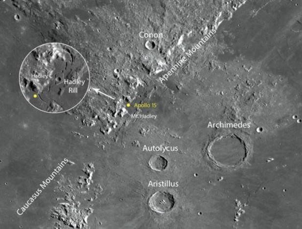 how to see all six apollo moon landing sites sky amp telescope - 540×412