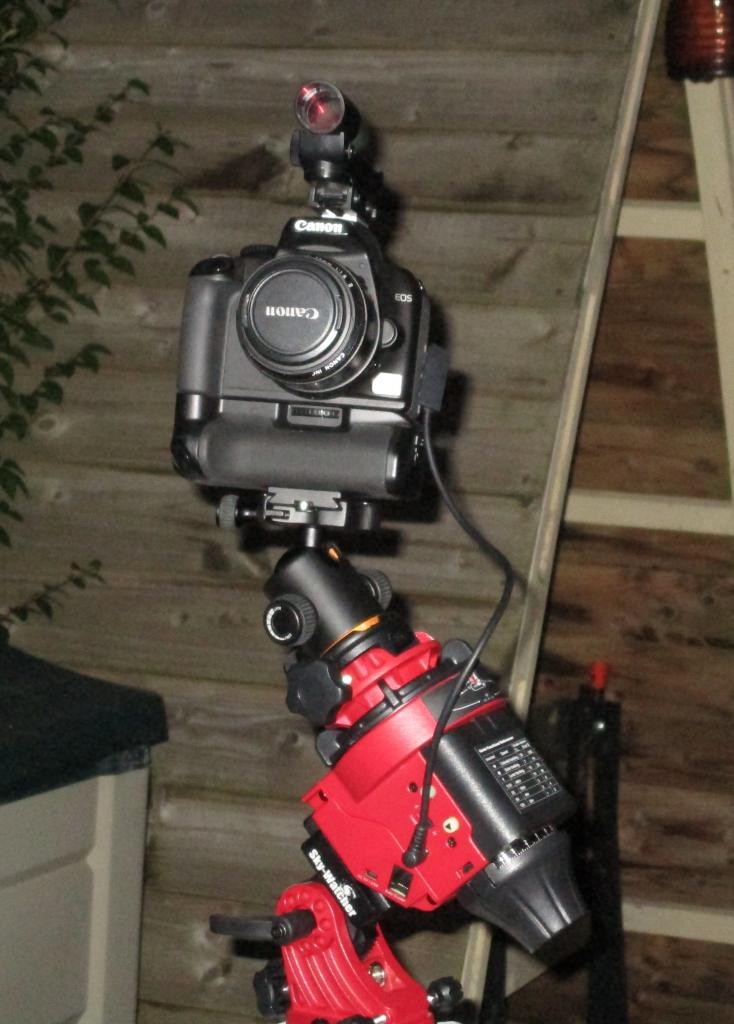 Canon on SW Adventurer