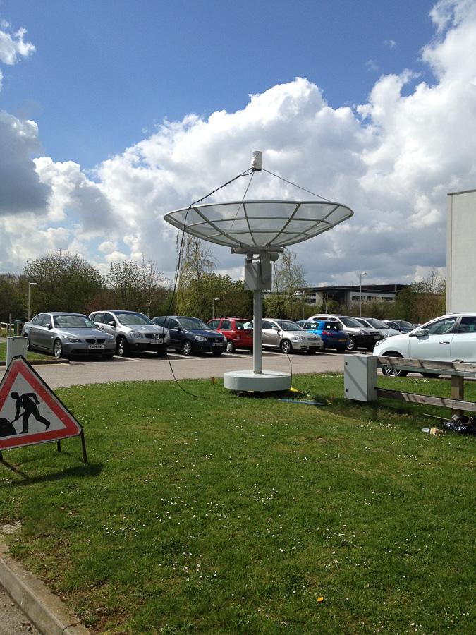 Radio telescope at the OU