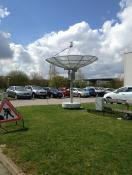 Radio telescope at the OU