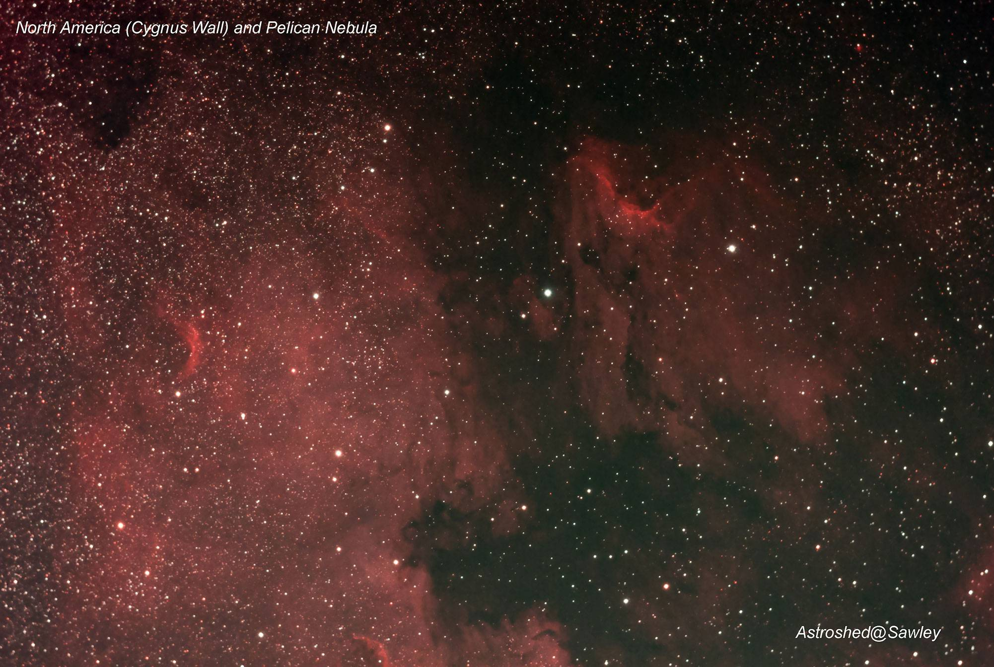 Chris's North America and Pelican Nebula