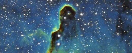 Hubble Palette Elephant Trunk