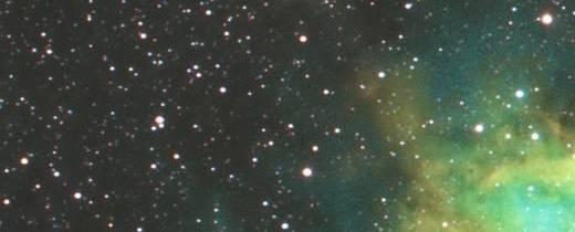 Pacman Neb in Hubble