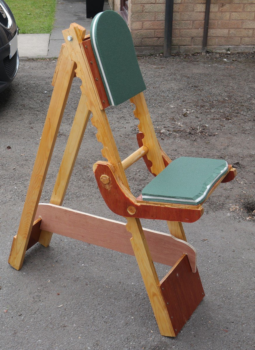 The Mk.2 astro chair